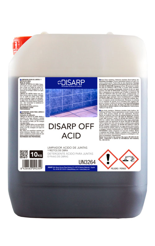 DISARP OFF ACID